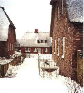 Oevenum im Winter